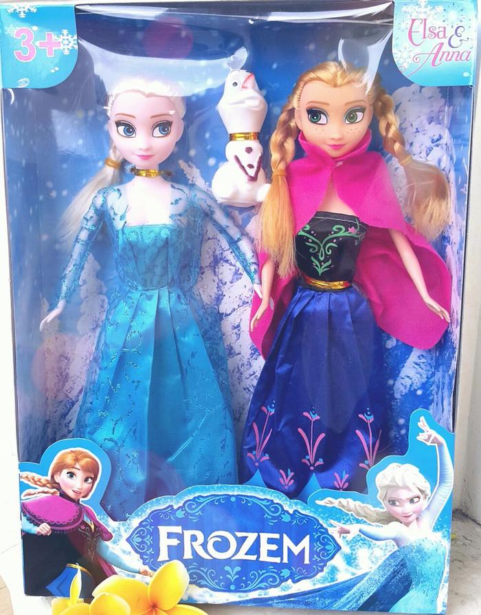 Jual Boneka Frozen Barbie Elsa Olaf   Boneka Anak Lucu   TERMURAH ... 887c5c59cf