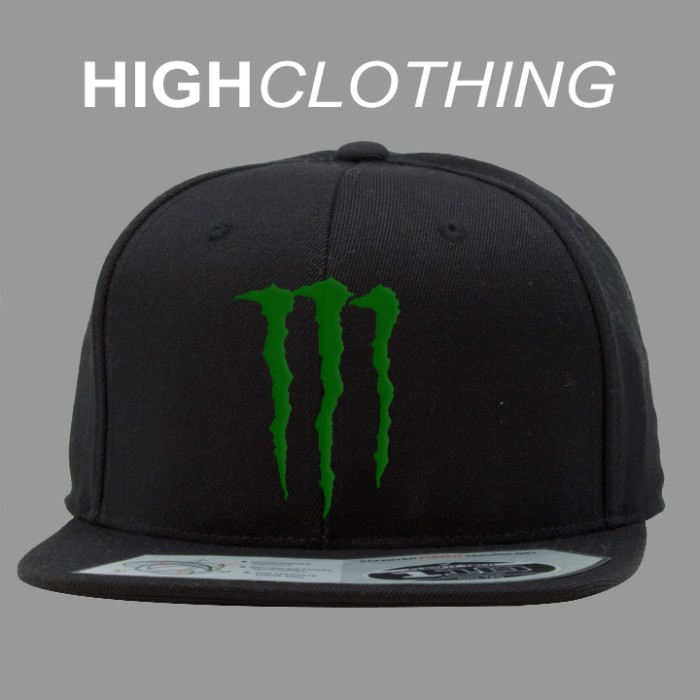 harga Topi snapback monster energy Tokopedia.com