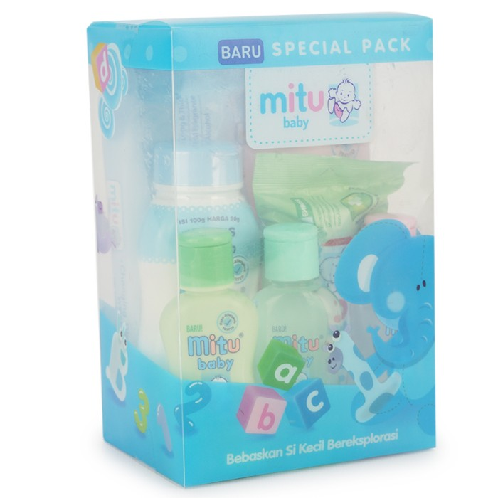 MITU baby special pack biru - MTB010