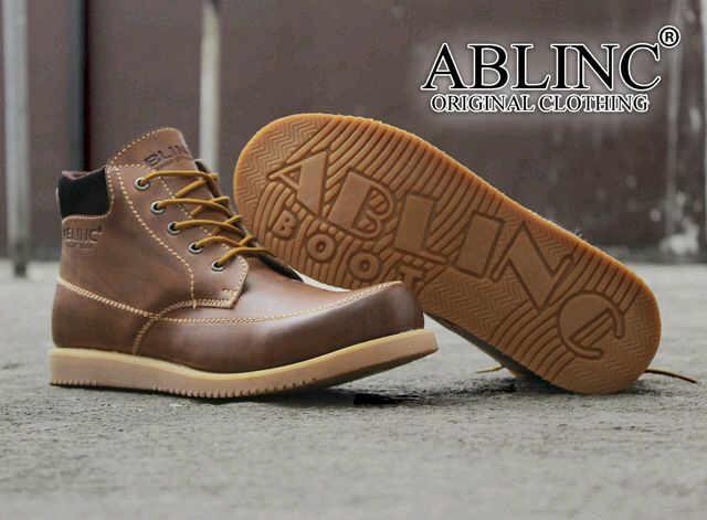 Jual Sepatu Ablinc Boots Original 03 - Nouha Store  6e193dadf0