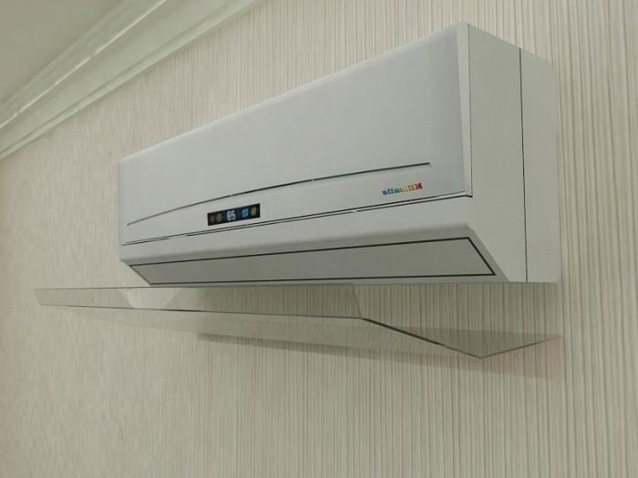AC Reflector Akrilik AC AC Shield Talang AC Penahan semburan angin AC