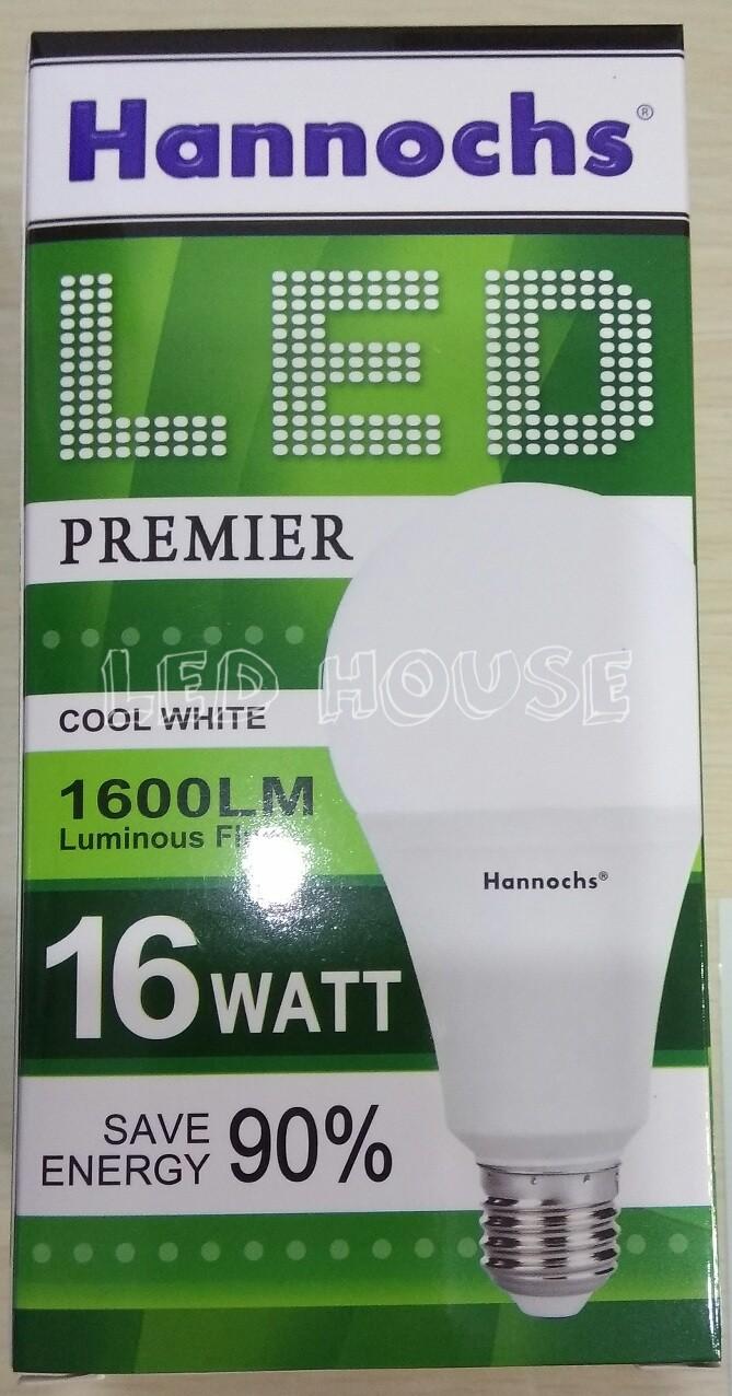 Jual Lampu Led Hannochs Premier 16w 16 Watt Blub House Tokopedia 3
