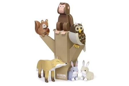harga Diy papercraft penghuni hutan Tokopedia.com