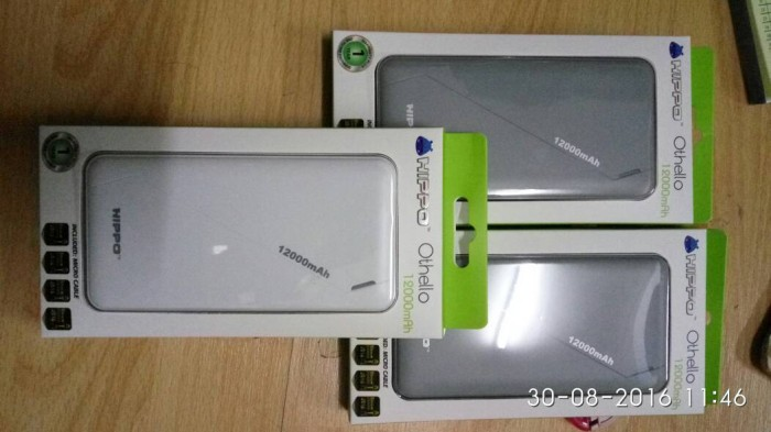 harga Power bank hippo othello 12000mah simple pack Tokopedia.com