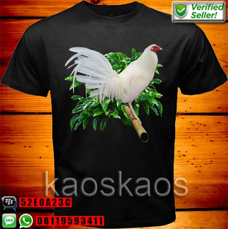harga Kaos ayam putih bertengger Tokopedia.com