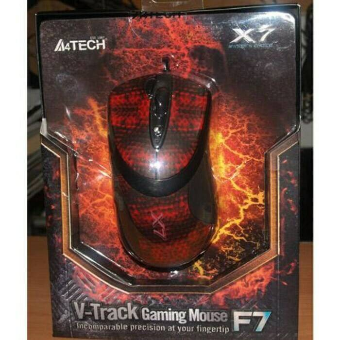 harga A4tech x7 f7 3000dpi - optical macro gaming mouse Tokopedia.com