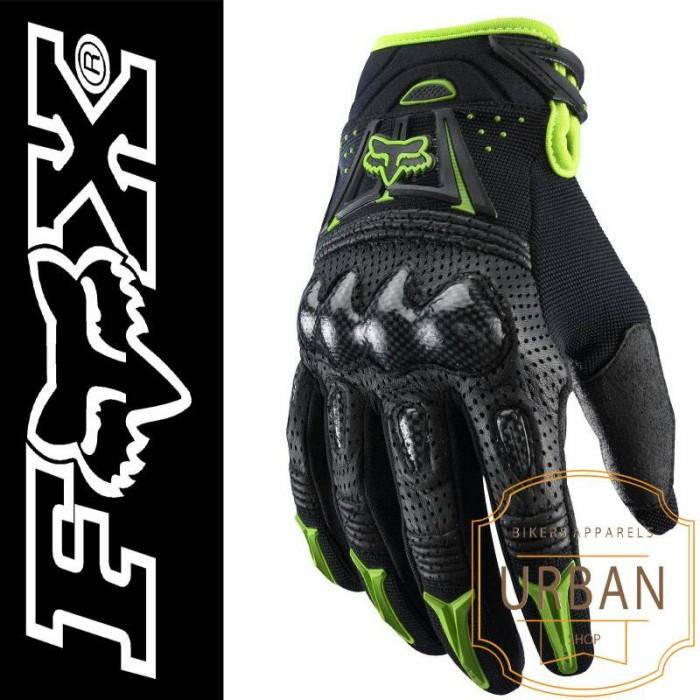 Jual Glove sarung tangan motor FOX BOMBER Travel Adventure Gear Source · sarung tangan gloves fox