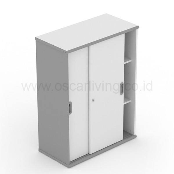 harga Lemari arsip uno ust1582a sliding door - grey Tokopedia.com