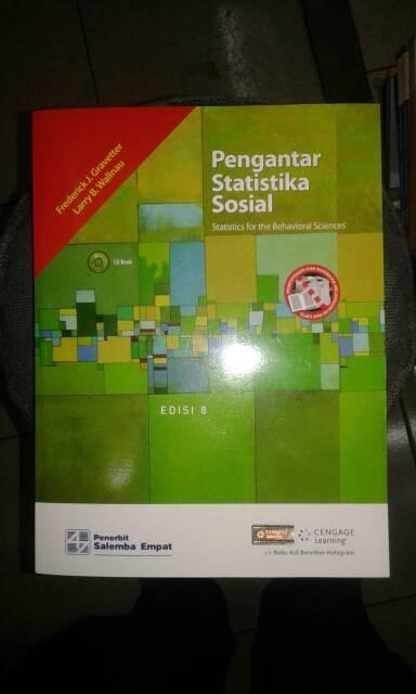 harga Pengantar statistika sosial edisi 8 (plus cd book) Tokopedia.com
