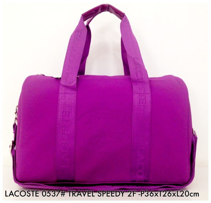 harga Tas travel lacoste handbag selempang travel speedy 0537 - 4 Tokopedia.com