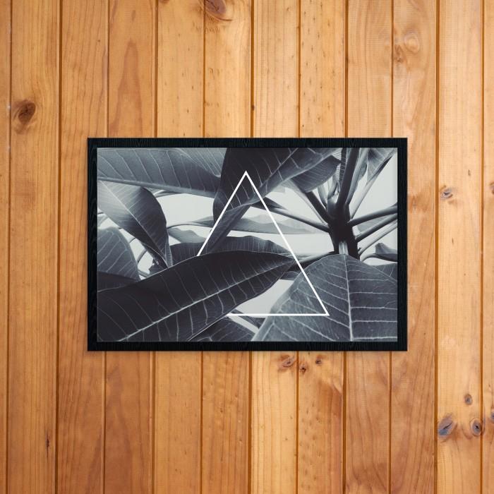 Hiasan rumah - poster  reminder  ukuran a4 + pigura