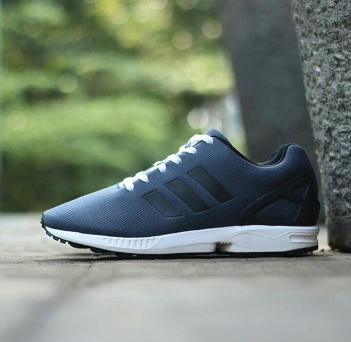 8417b4d279c23 ... reduced adidas zx flux dark grey black original made in indonesia f5522  953bb