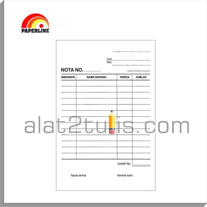 Jual Nota Kontan 1 Ply Hvs 50 Lembar Paperline Kota Bandung Alat2tulis Tokopedia