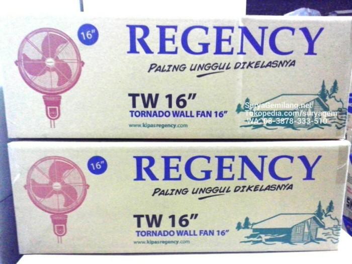 ... Wall Fan Regency TW16 Besi 40cm Kipas Angin Asli Baru Garansi Resmi