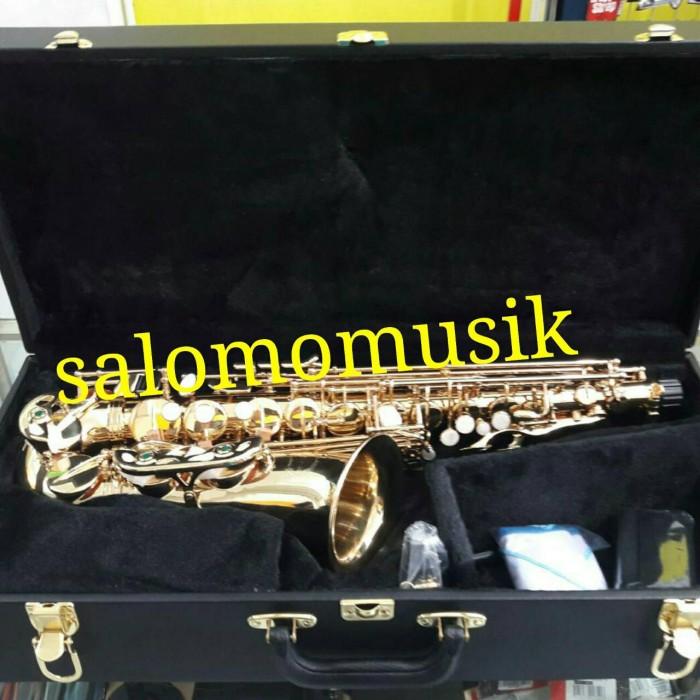 harga Alto saxophone gold chateau cas 21 cvl Tokopedia.com