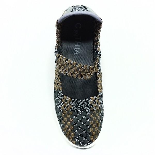 Branded Cyntia Sepatu Rajut 506 - Abu
