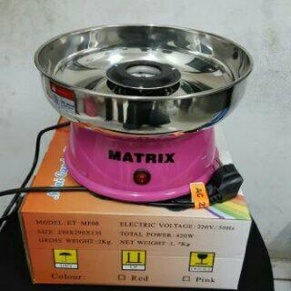 harga Mesin gulali mini / mesin cotton candy mini / gula kapas matrix Tokopedia.com