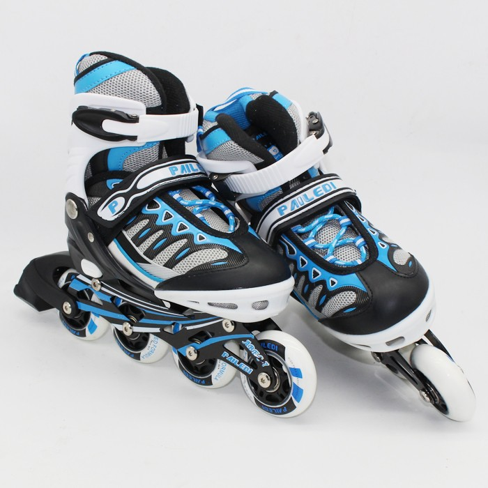 harga Ruibao sepatu roda(8 ban full flash)+deker/pelindung inline skate ab2 Tokopedia.com
