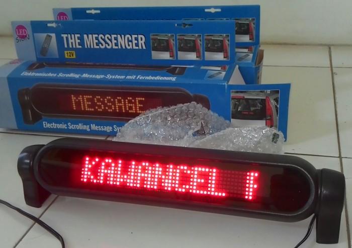 harga Led running moving text car , office ,bus iklan messenger Tokopedia.com