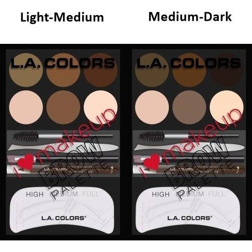 harga (original) la colors -   i heart makeup brow palette Tokopedia.com