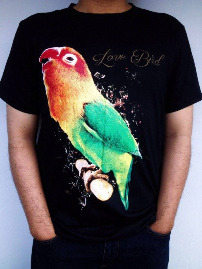 47 Foto Desain Kaos Burung Lovebird Gratis Terbaik Yang Bisa Anda Tiru