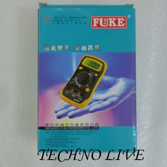 harga Multi tester digital fuke 830l Tokopedia.com