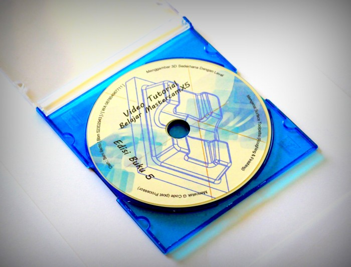 Jual Buku 5 + Dvd Tutorial Belajar Mastercam X5 - Kota Surakarta - BENTO  Book Shop   Tokopedia