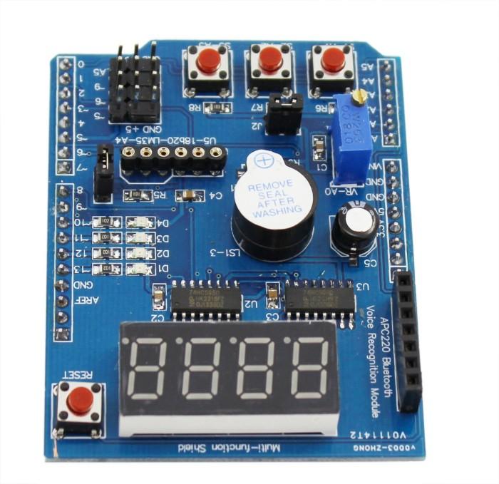 Foto Produk Multifunctional shield expansion board learning kit arduino UNO Mega dari TOKO BEY