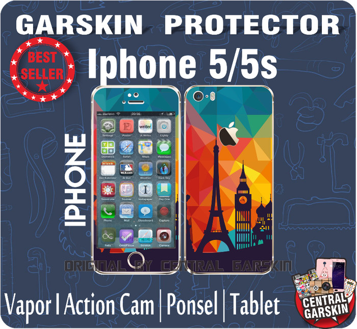 harga Garskin iphone 5/5s paris pris Tokopedia.com