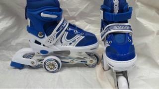 harga Sepatu roda inline skate (model bajaj) Tokopedia.com