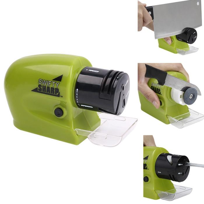 Foto Produk Swifty Sharp Electric Sharpener / Pengasah Pisau Elektrik dari BudgetGadget