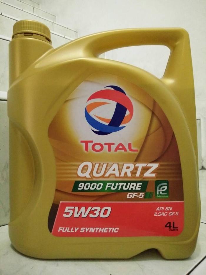 Jual Oli Total Quartz 9000 Future 5W-30 API SN GF-5 Fully Synthetic 4 Liter  - Jakarta Barat - ATPM Oil and Lubricant   Tokopedia