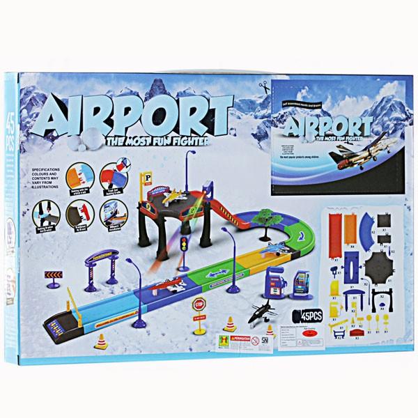 Mainan track airport set
