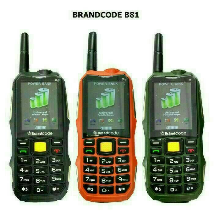harga Hp brandcode b81 (battery 10.000mah) portable charger Tokopedia.com