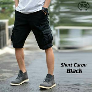 harga Celana pendek kargo hitam / pdl / gunung / short cargo black Tokopedia.com