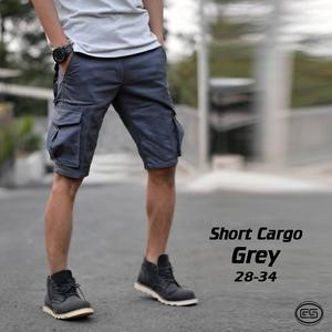 harga Celana pendek kargo abu / pdl / gunung / short cargo grey Tokopedia.com
