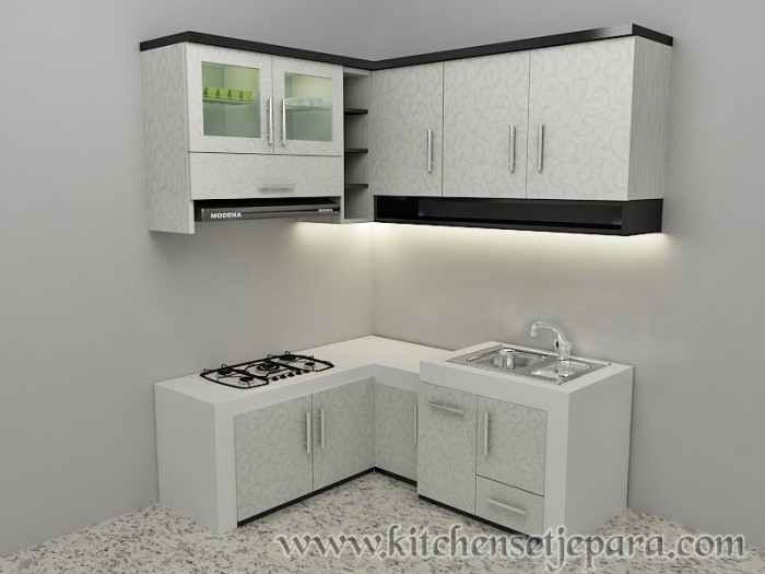Jual Kitchen Set Minimalis Kab Jepara Kitchen Set Furniture Tokopedia