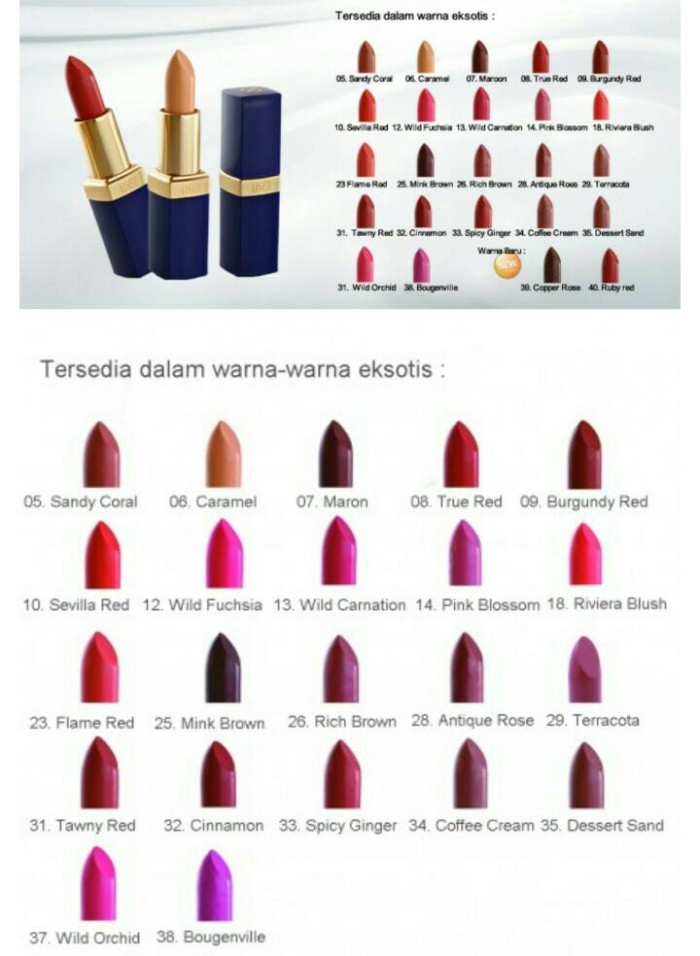 Inez Lipstick 05 Sandy Coral Lipstik Bibir Perlindungan Kulit Bibir Source · INEZ COLOR CONTOUR PLUS