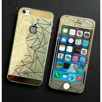harga Iphone 4/5/6/6 plus deluxe 3d rhombus pattern tempered glass case Tokopedia.com