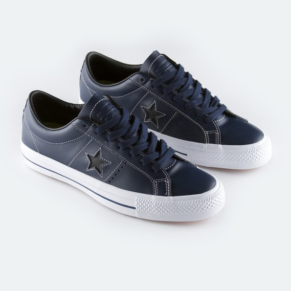4ce535d71166 Jual Sepatu Converse Sean Pablo One Star Pro Leather Navy Original ...