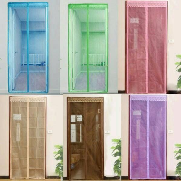Jual Tirai pintu magnet anti nyamuk murah kelambu kasa ...