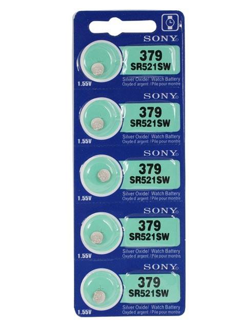 Foto Produk Batre Battery Baterai Sony SR521 SR521SW Sony SR 521 379Original dari grojam