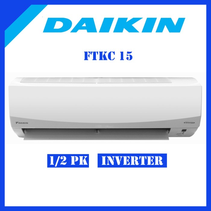 AC Daikin Inverter FTKC15 Smile Curve 1 2 PK