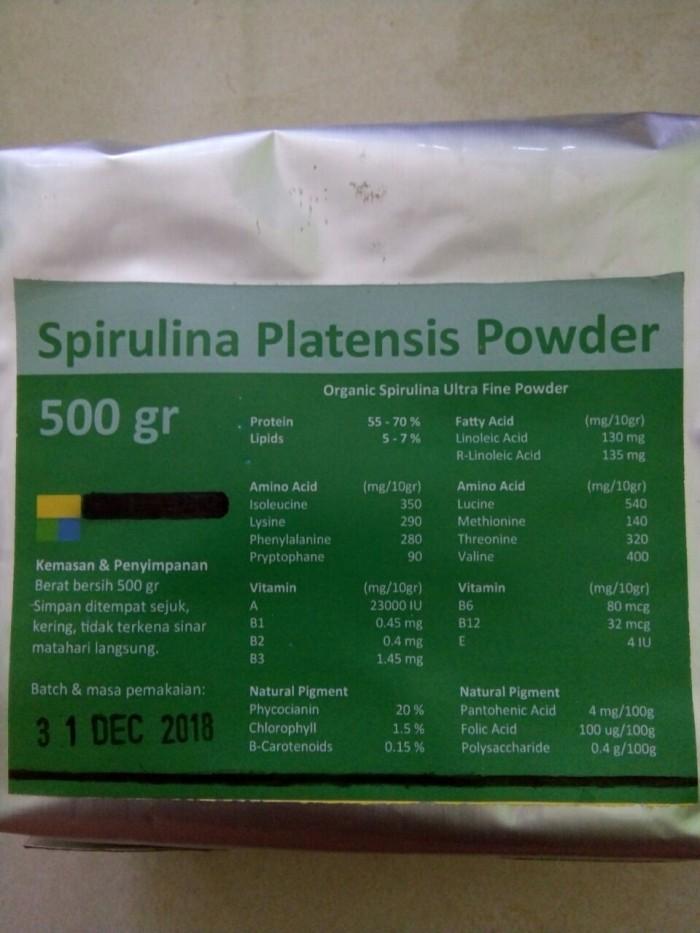 harga Spirulina Organic Powder (bubuk) Tokopedia.com