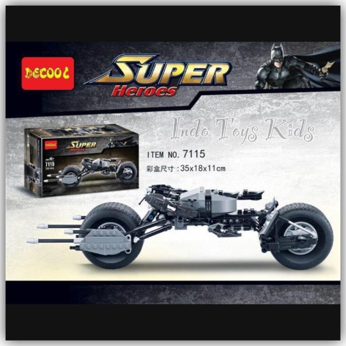harga Decool 7115 batman bat pod Tokopedia.com