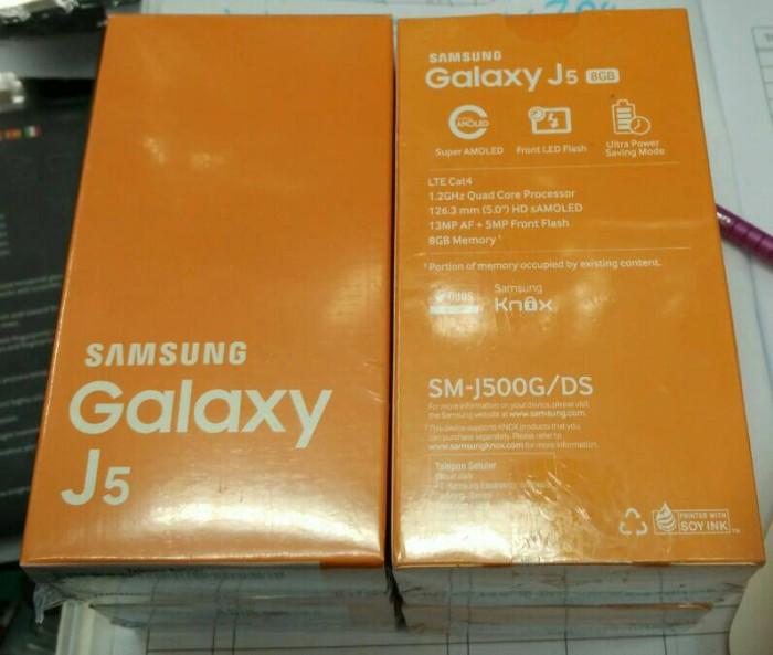 harga Samsung j5 new garansi resmi sein ready black white Tokopedia.com