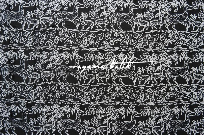 Jual Kain Batik Cap Etnik Motif Rusa Batik Binatang Batik Hewan