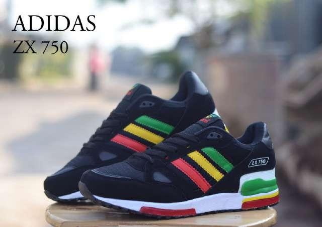 0a20d528fddea ... netherlands sepatu adidas zx 750 black reggae 40 44 fa42c 53ce8