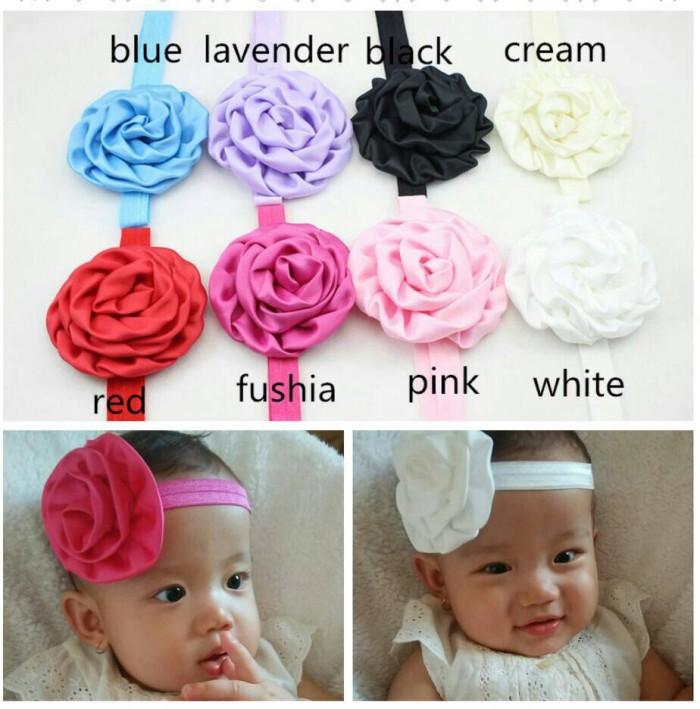 Jual Bando Bunga Lingkar Untuk Bayi Dan Anak Perempuan Headband