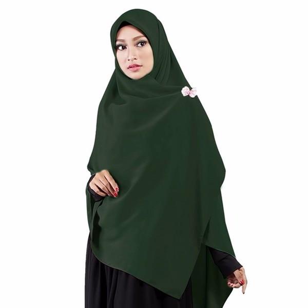 Hijab Hijau Botol Nusagates